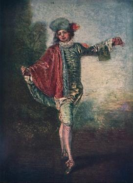 'L'Indifferent', c1717, (1911) by Jean-Antoine Watteau