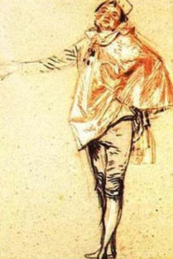 Man Standing by Jean Antoine Watteau