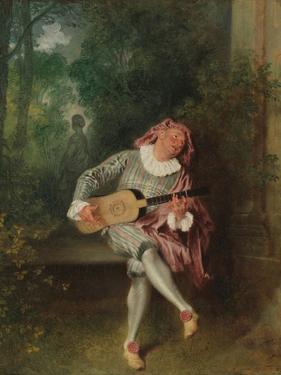 Mezzetin, c.1718-20 by Jean Antoine Watteau