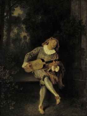 Mezzetin by Jean Antoine Watteau