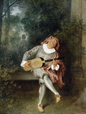 Mezzetin by Jean-Antoine Watteau