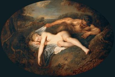 Nymph and Satyr (Jupiter and Antiop)