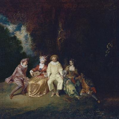 Pierrot Content, Ca 1712