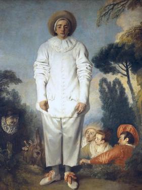 Pierrot (Gilles) by Jean-Antoine Watteau