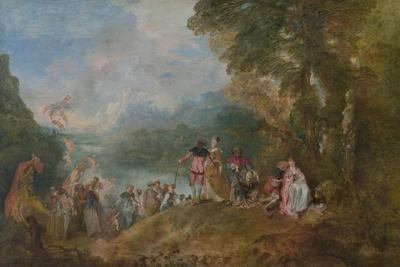 Pilgrimage to Cythera (Embarkation for Cyther), 1717