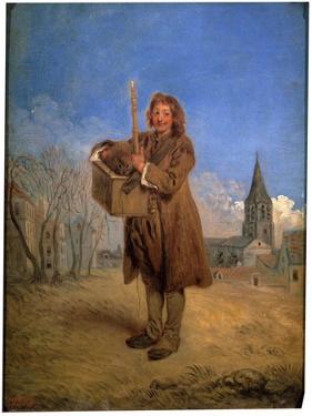 Savoyard with a Marmot, 1716 by Jean-Antoine Watteau