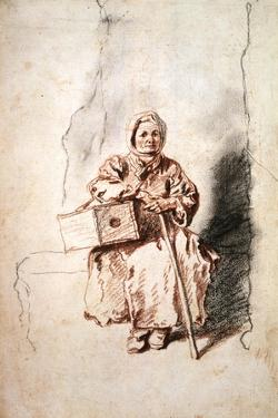 Savoyarde, C1715 by Jean-Antoine Watteau