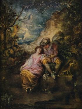 'Scene Pastorale', c1710 by Jean-Antoine Watteau