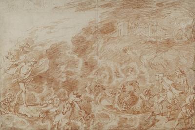 Storm at Sea by Jean Antoine Watteau