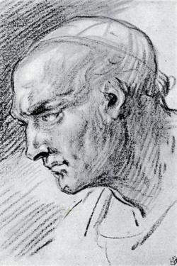 Study of a Head, 1913 by Jean-Antoine Watteau