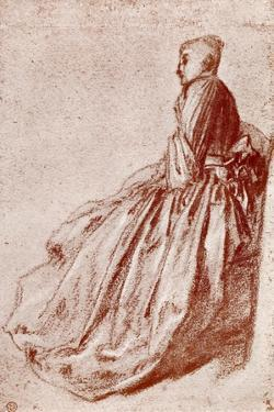 Study of a Young Woman, 1913 by Jean-Antoine Watteau