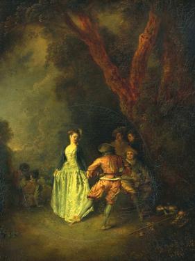 The Country Dance, C.1711 by Jean Antoine Watteau