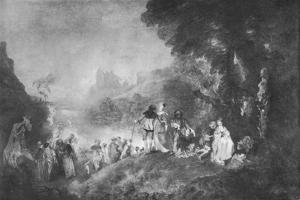 'The Embarkation for the Island of Cytherea', 1717, (1912) by Jean-Antoine Watteau
