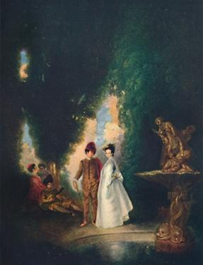 'The Fountain', c18th century, (1911) by Jean-Antoine Watteau