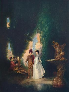 'The Fountain', c18th century, (1911) by Jean-Antoine Watteau