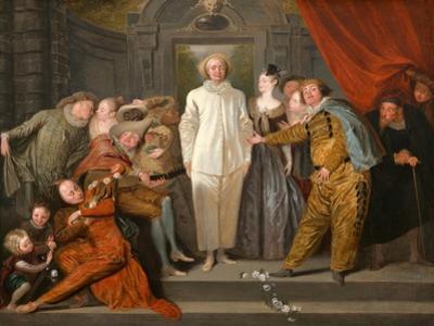 The Italian Comedians, Ca 1720