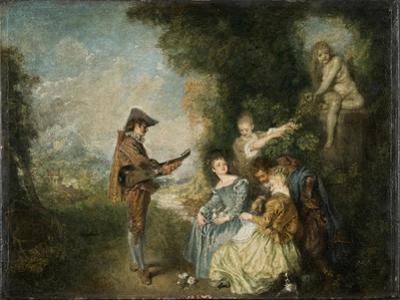 The Love Lesson, 1716-1717
