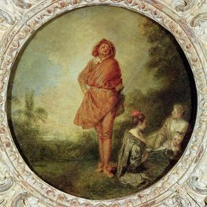 The Proud Man, 1715 by Jean Antoine Watteau