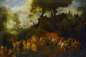 The Wedding, C.1712-16 by Jean Antoine Watteau