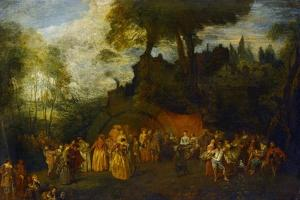 The Wedding, C.1712-16 by Jean Antoine Watteau