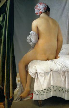 Bathing Woman (Baigneuse De Valpincon), 1806 by Jean-Auguste-Dominique Ingres