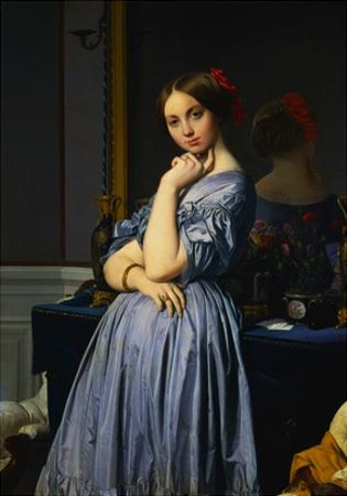Comtesse d'Haussonville by Jean-Auguste-Dominique Ingres