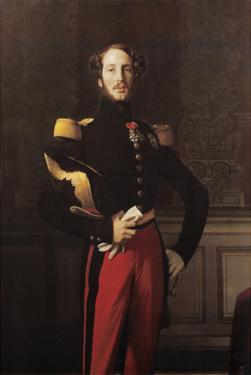 Ferdinand-Philippe-Louis-Charles-Henri, Duc D'Orleans by Jean-Auguste-Dominique Ingres