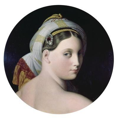 Head of the Grande Odalisque by Jean-Auguste-Dominique Ingres