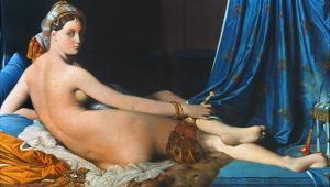 J.A.D. Ingres: Odalisque by Jean-Auguste-Dominique Ingres