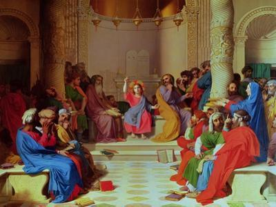 Jesus Among the Doctors, 1862 by Jean-Auguste-Dominique Ingres