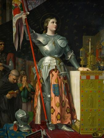 Joan of Arc at the Coronation of King Charles VII at Reims Cathedral, July 1429 by Jean-Auguste-Dominique Ingres