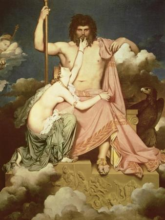 Jupiter and Thetis, 1811 by Jean-Auguste-Dominique Ingres