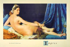 La Grande Odalisque by Jean-Auguste-Dominique Ingres
