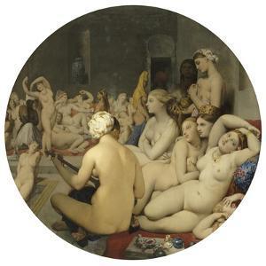 Le Bain turc by Jean-Auguste-Dominique Ingres