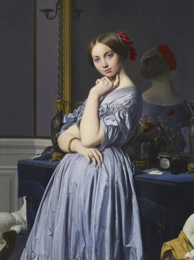 Louise De Broglie, Comtesse D'Haussonville, 1845 by Jean-Auguste-Dominique Ingres