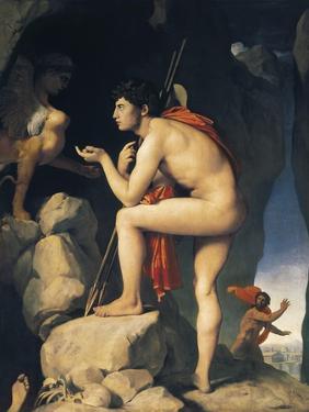 Oedipus and Sphinx (Edipe Explique L'Énigme Du Sphinx) by Jean-Auguste-Dominique Ingres