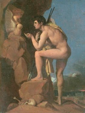 Oedipus and the Sphinx, C.1826 by Jean-Auguste-Dominique Ingres