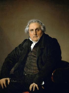 Portrait of Monsieur Bertin by Jean-Auguste-Dominique Ingres