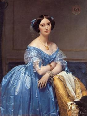 Portrait of the Princesse De Broglie, 1853 by Jean-Auguste-Dominique Ingres