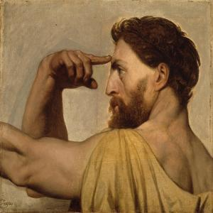 Study for Phidias in the Apotheosis of Homer, 1827 by Jean Auguste Dominique Ingres