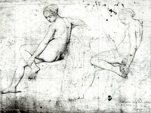 Study For the Turkish Bath by Jean-Auguste-Dominique Ingres