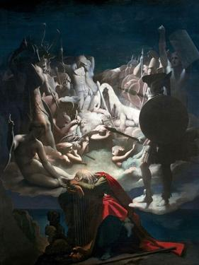 The Dream of Ossian, 1813 by Jean-Auguste-Dominique Ingres