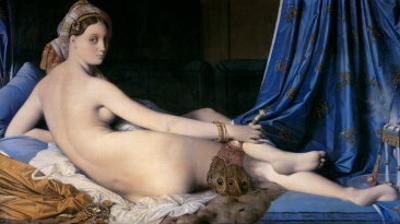 The Grand Odalisque by Jean-Auguste-Dominique Ingres