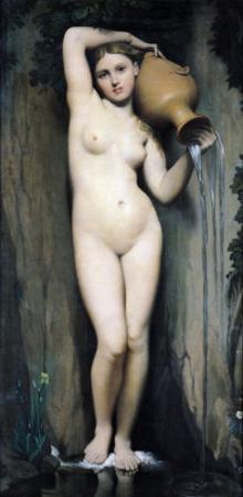 The Source, 1856 by Jean-Auguste-Dominique Ingres