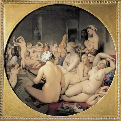 The Turkish Bath by Jean-Auguste-Dominique Ingres