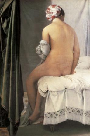 The Valpinçon Bather (La Baigneuse, Dite La Baigneuse De Valpinçon) by Jean-Auguste-Dominique Ingres