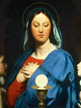 The Virgin Mary Prays to the Host, 1866 by Jean-Auguste-Dominique Ingres