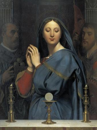 The Virgin with the Host by Jean-Auguste-Dominique Ingres