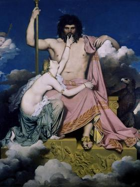 Thetis and Jupiter by Jean-Auguste-Dominique Ingres
