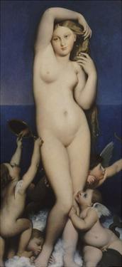 Venus Anadyomene by Jean-Auguste-Dominique Ingres